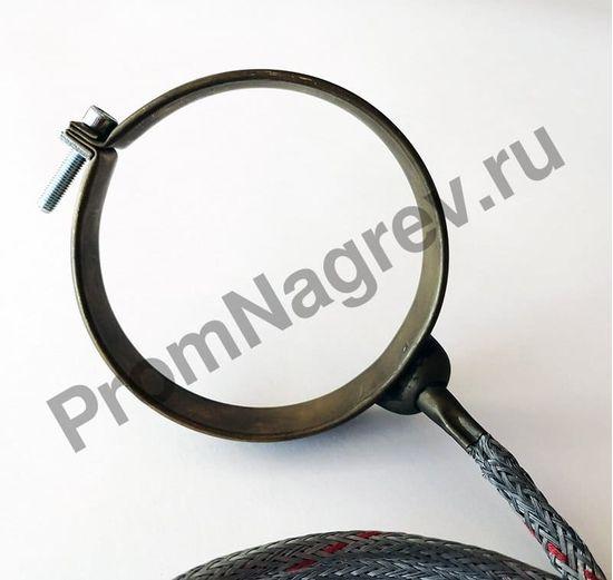 Нагревательный элемент с корпусом из нержавеющей стали 92 x 20 мм, 310 Вт/ 230 В и проводом под углом 45 градусов