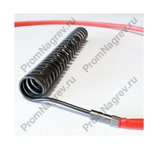 Навитый горячеканальный нагреватель сечение 2,2x4,2 мм; 1200/230 В; 22 x 170 мм со встроенной термопарой