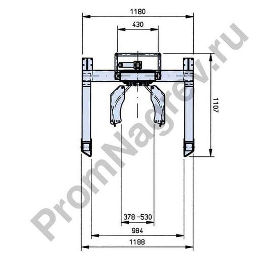 Подъёмник для бочек Servo FL 12