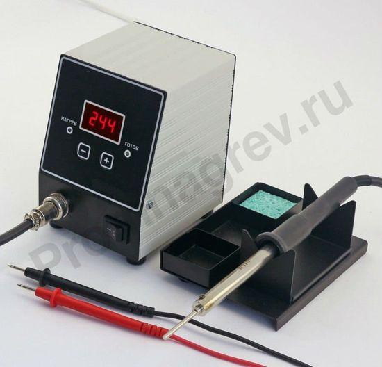 Цифровая паяльная станция Ц20-МП с возможностью прозвонки