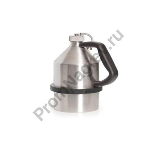 Ёмкость из нержавеющей стали для транспортировки ЛВЖ, с завинчивающейся крышкой, объём 2 литра