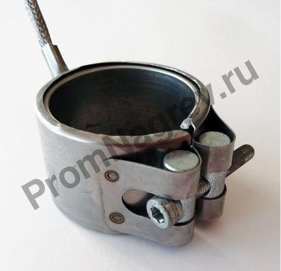 Нагреватель сопловый с корпусом из нержавеющей стали 50 x 36 мм, 600 Вт/ 230 В, провод под углом 45 градусов