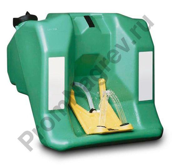Фонтан для промывки глаз с контейнером ёмкостью 60 литров, с настенным креплением