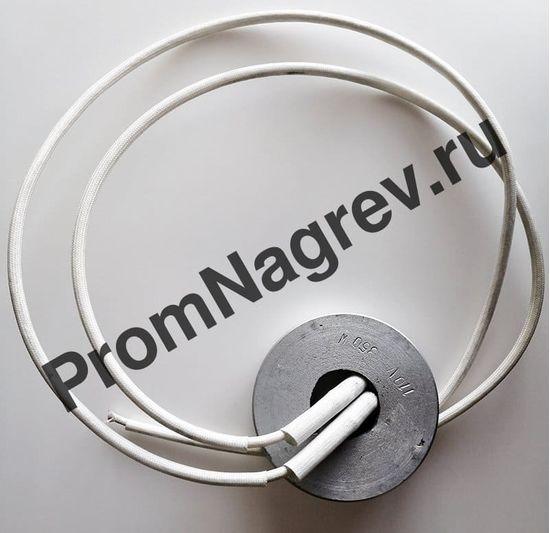 Алюминиевый нагреватель круглый плоский 350 Вт/110 В, внешний диаметр 82 мм