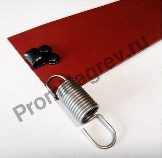 Поясной нагреватель для бочек 60х640 мм, 180 Вт/230 В, провод 1500 мм, крепление пружина