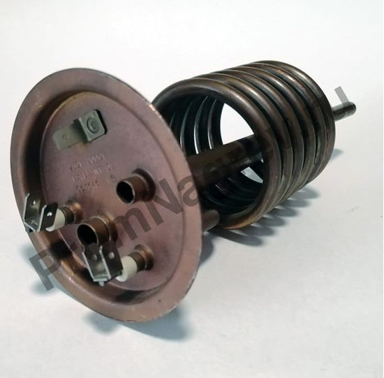 ТЭН на фланце 120-6,5, диаметр 6,5 мм, длина 120 мм, 2000 Вт/230 В, клеммы