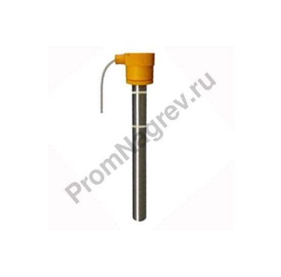Герметичный ударопрочный гальванический тэн серии T диаметр 45 мм, материал защитной трубки титан WST-Nr. 3.7035