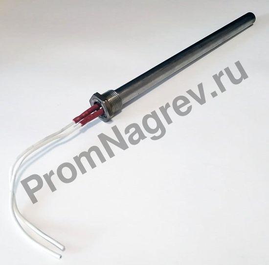 Пальчиковый ТЭН 19 × 293 мм, 2000 Вт/220 В, ниппель