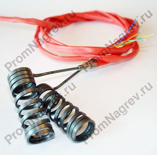 Навитый спиральный нагреватель 2,2х4,2 мм