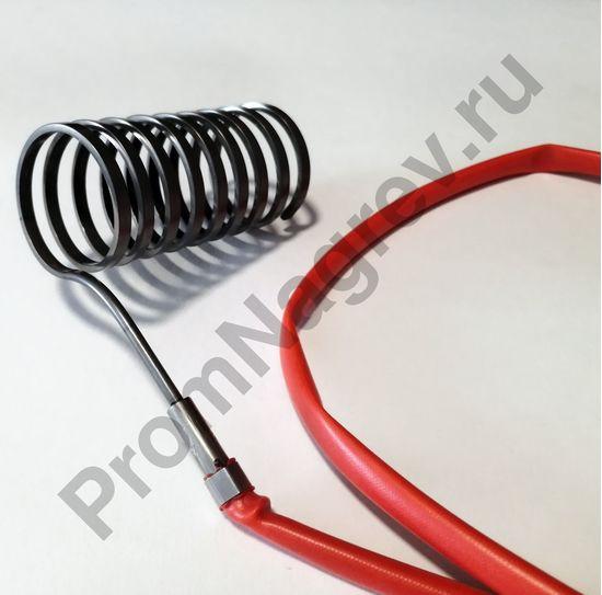 Спиральный нагреватель Hotcoil 2,2*4,2 мм; 230 В/850 Вт; термопара J; навит на диаметр 36,5 мм, длину 72 мм