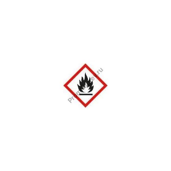 знак пожара для профи-поддона на две бочки стального