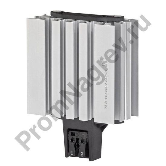 Конвекционные среднетемпературные обогреватели шкафов автоматики SL-SNB мощность 175 Вт и 210 Вт, размер 85х40х179 мм, подключение клемма