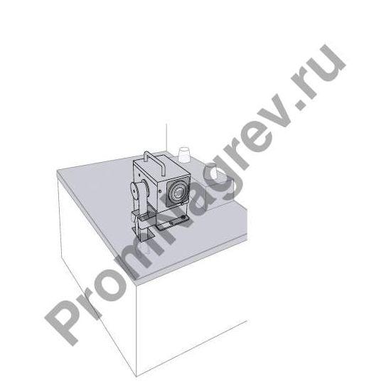 Скиммер, глубина погружения – 420 мм, во время эксплуатации.