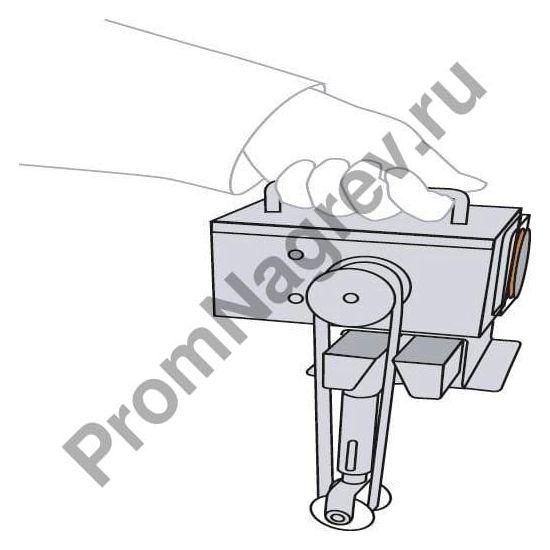 Скиммер, глубина погружения – 420 мм очень удобен в обращении, легок в переноске и эксплуатации.