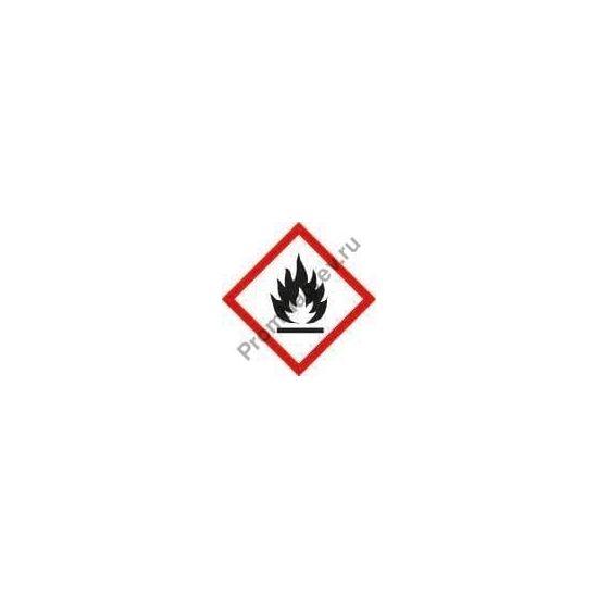 Знак хранения пожароопасных веществ.