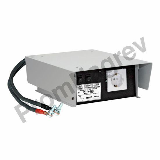 ИС1-24-2000 Р инвертор, преобразователь напряжения DC/AC, 24В/220В, 2000Вт
