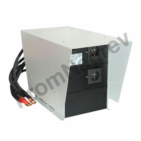 ИС1-24-6000 Р инвертор, преобразователь напряжения DC/AC, 24В/220В, 6000Вт