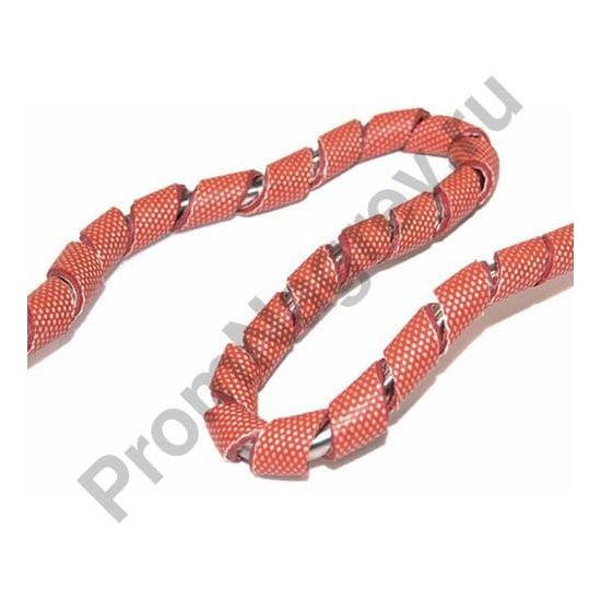 Гибкий силиконовый спиральный нагреватель для трубы