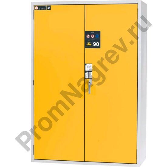 Огнестойкий шкаф для хранения газовых баллонов, шириной 1400 мм