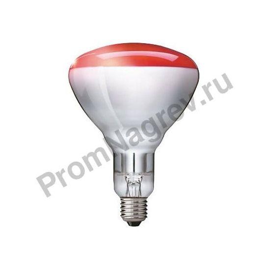 Инфракрасная лампа Philips BR125 IR 150W E27 230-250V Red 1CT/10