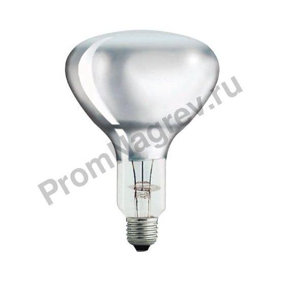 Специальная лампа Philips для обогрева R125 IR 375W E27 230-250V CL 1CT/10