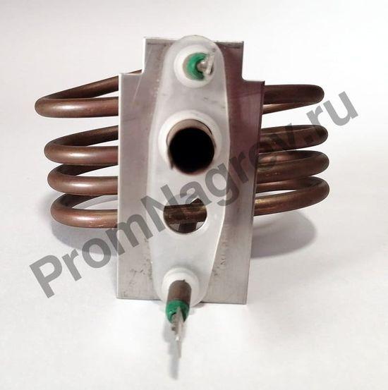 Нагревательный элемент фланцевый 1300-11, фланец 78*40 мм, клемма