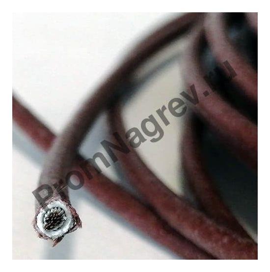 Высокотемпературный провод; сердечник многожильный чистый никелевый проводник