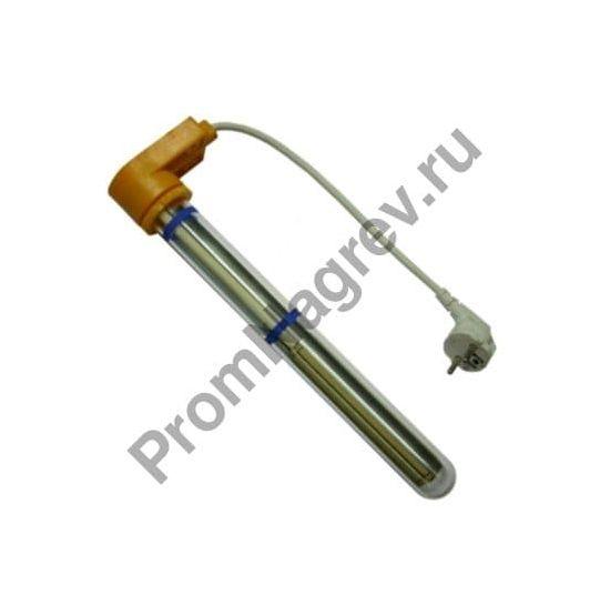 Погружной нагреватель мини серии UKQ для гальванических ванн диаметр 32 мм, защитная трубка из кварцевого стекла