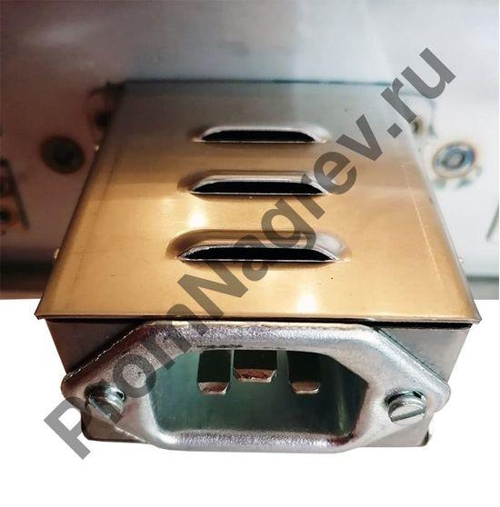 Миканитовый рамочный нагреватель из 4-х нагревательных элементов для фильеры экструдера