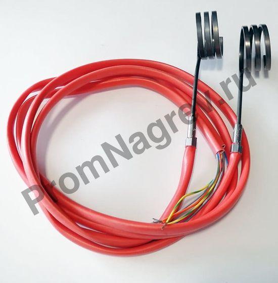 Нагревательный элемент для инжектора Hotcoil 2,2*4,2 мм; 230 В/290 Вт; термопара J; навит на диаметр 40 мм, длину 18 мм