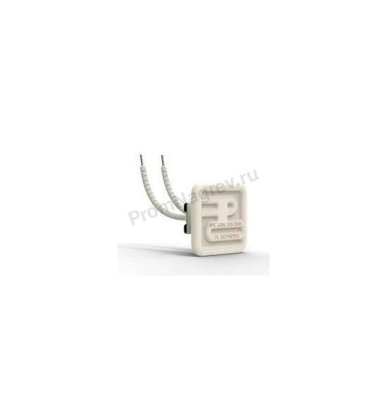 Нагреватели инфракрасного излучения керамические плоские QFE 125 Вт  и 250 Вт, 60x60x26 мм