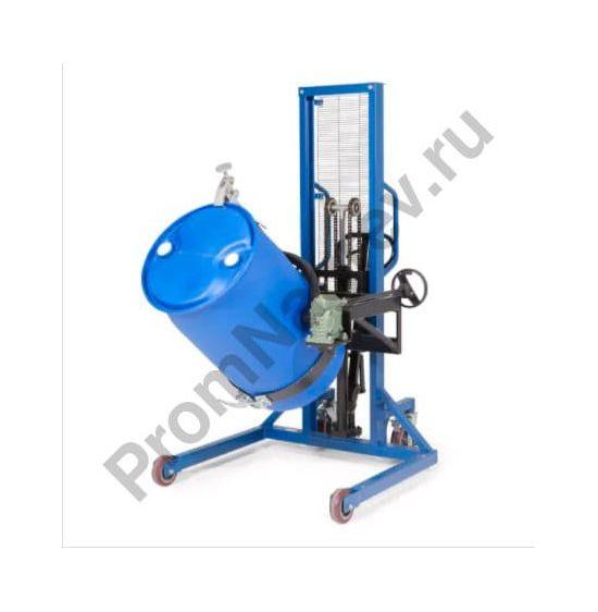 Устройство Servo для подъёма, перемещения и поворачивания бочек 200-220 литров, широкий механизм для передвижения, высота подъёма 0-1270 мм