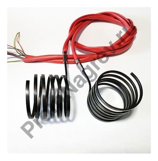 Спиральный нагреватель Hotcoil 2,2*4,2 мм; 230 В/850 Вт; термопара J; навит на диаметр 65 мм, длину 35 мм