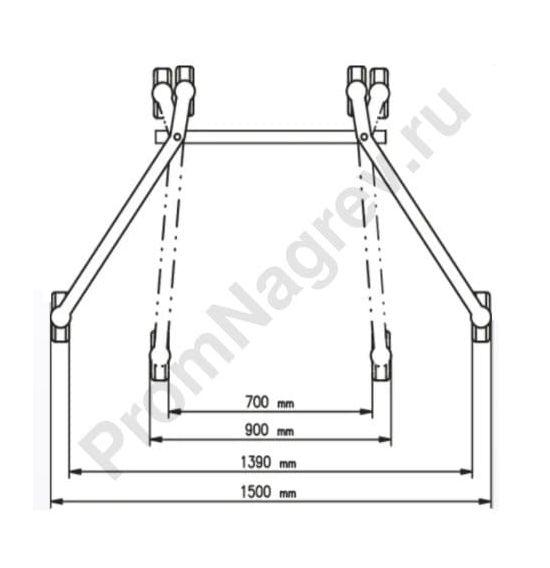 Устройство Servo для подъема и транспортировки стальных бочек, регулируемое шасси