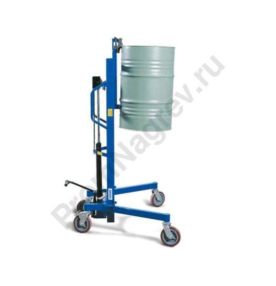 Устройство Servo для подъема и транспортировки стальных бочек 200 литров, регулируемое шасси, высота подъема 0-1055 мм