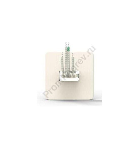 ИК нагревательный элемент керамический плоский SFSE 250 - 1000 Вт, 122x122x26 мм с ТП