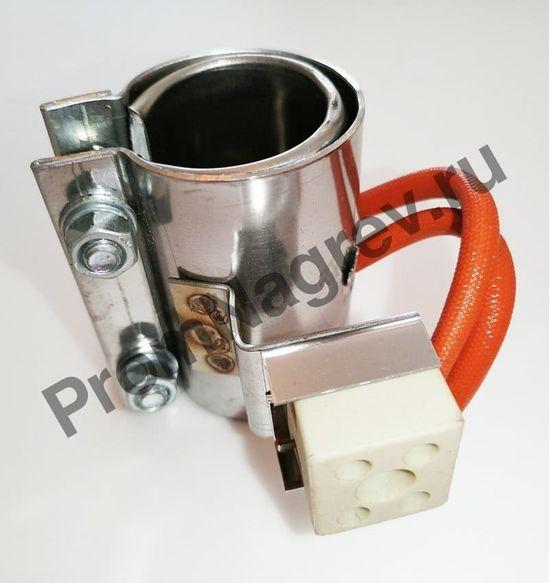 Хомутовый миканитовый нагревательный элемент диаметр 25 мм, ширина 50 мм