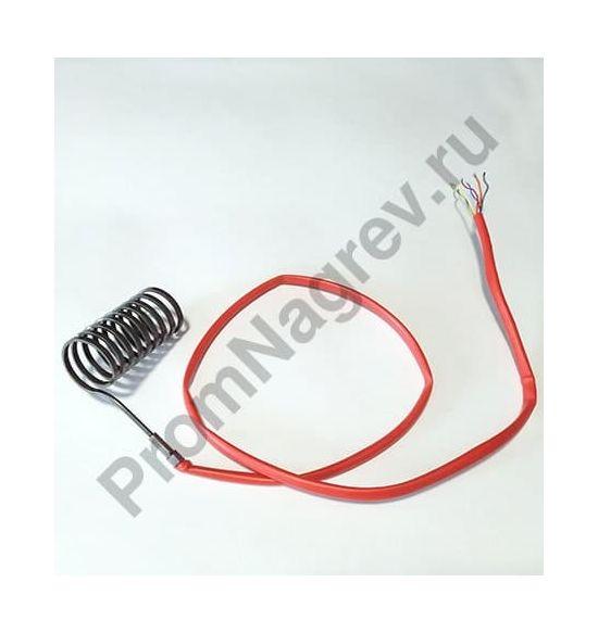 Спиральный нагреватель 2,2*4,2 мм; 230 В/850 Вт; термопара J; навит на диаметр 36,5 мм, длину 72 мм