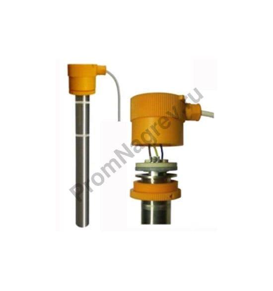 Гальванический модульный нагреватель серии T с погружной трубкой из титана WST-Nr. 3.7035 диаметром 45 мм