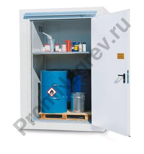 Компактный огнестойкий контейнер, 2 уровня хранения, 1566 x 1526 x 2085 мм