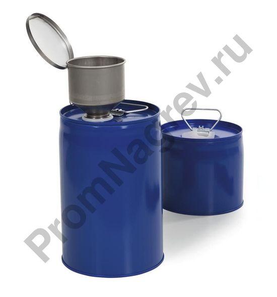Комплект из 2 безопасных комбинированных контейнеров из окрашенной стали с внутренним баллоном из полиэтилена вместимостью 6 литров