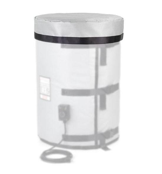 Необогреваемая изолирующая термокрышка для бочки из стекловолоконного материала с силиконовым покрытием