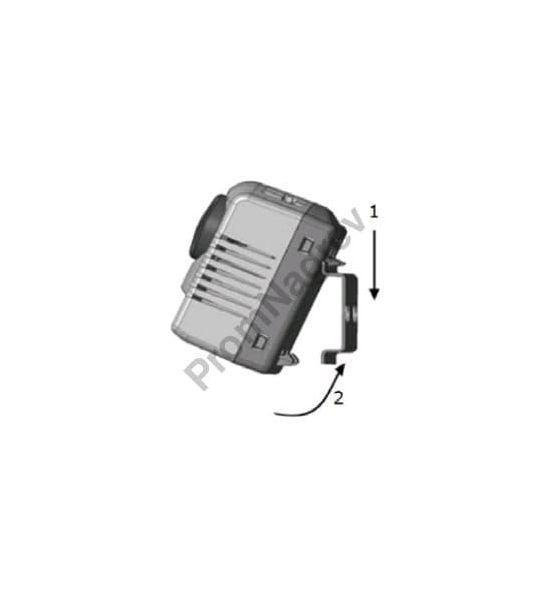 Механический гигростат SL-MTM-404  с переключающим контактом на нагрев/охлаждение - монтаж на DIN-рейку 35 мм