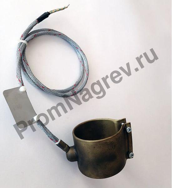 Сопловый нагреватель BDS с корпусом из нержавеющей стали 65 x 70 мм, 600 Вт/ 230 В и проводом под углом 45 градусов
