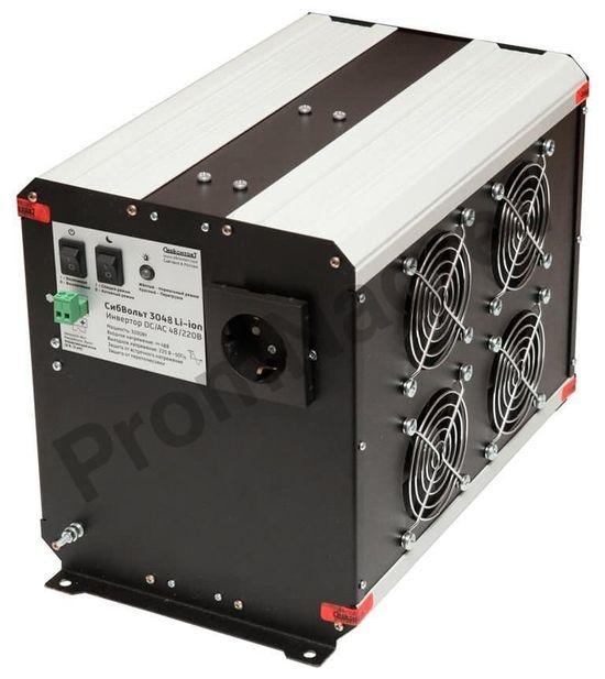 СибВольт 3048 Li-ion инвертор, преобразователь напряжения DC/AC, 48В/220В, 3000Вт