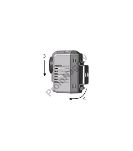 Механический гигростат SL-MTM-404  с переключающим контактом на нагрев/охлаждение - демонтаж