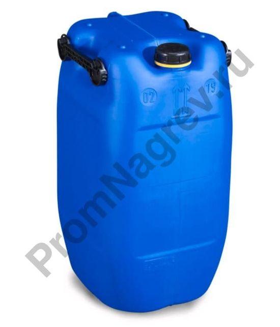 Пластиковая канистра из полиэтилена (PE), 60 литров, синяя