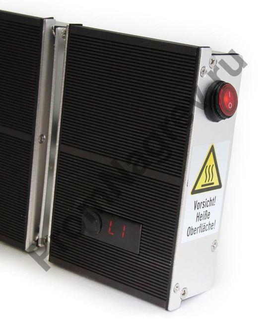 Инфракрасный обогреватель, режим 1, мощность 50%