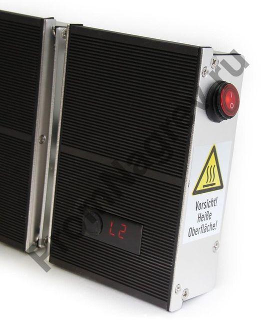 Инфракрасный обогреватель, режим 2, мощность 100%