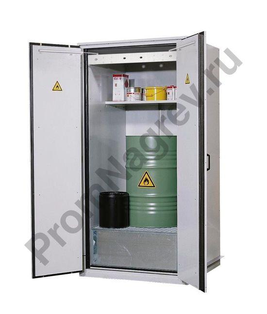 Бочковой шкаф VbF 90.1 испытан как тип 90 (огнестойкость до 90 минут) в соответствии с требованиями DIN EN 14470-1